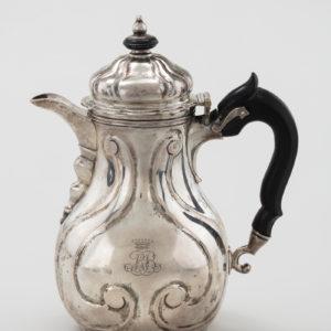 Kaffeekanne, Celle, Meister: Georg Carl Brenner ca. 1770